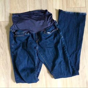 GAP [4 TALL] maternity bootcut pants